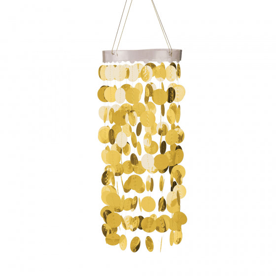 Gold Chandelier Decoration