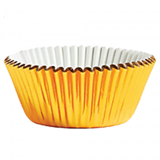 Gold Cupcake Cases - Baking Cups