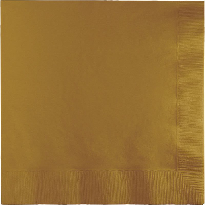 Gold Lunch Napkins P50