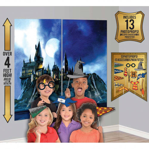 Harry Potter Backdrop & Photo Props