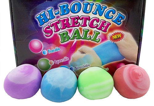 Hi bounce stretch ball