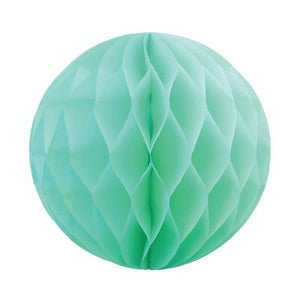Honeycomb Ball 25cm Mint Green