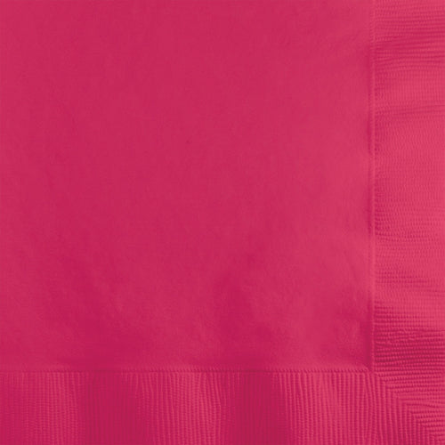 Hot Pink Lunch Napkins P50
