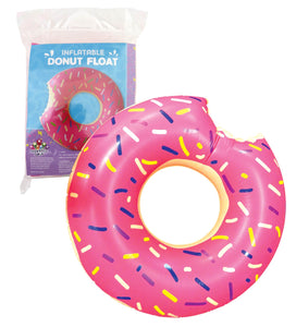Inflatable Doughnut Pool Float