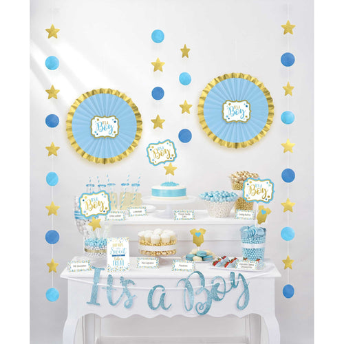 It's A Boy Treat Table Decorating Kit