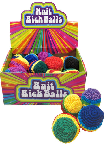 Knitted Kick Ball - Hacky Sack