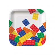 Lego Block Party Lunch Plates
