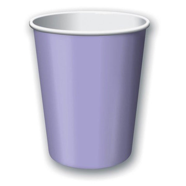 Lilac Paper Cups