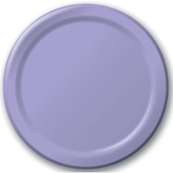 Lilac Paper Dinner Plates