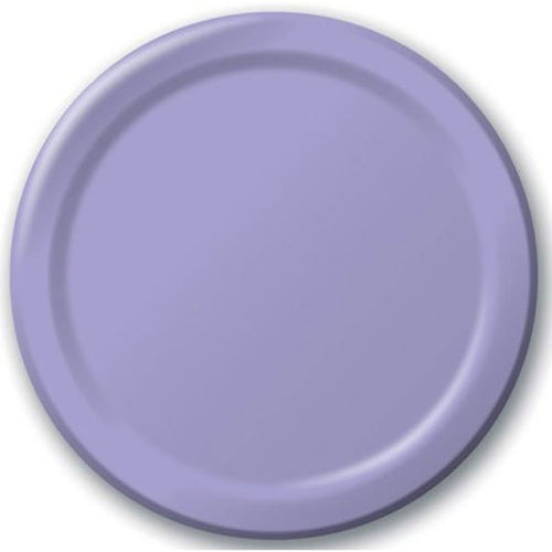 Lilac Paper Snack Plates
