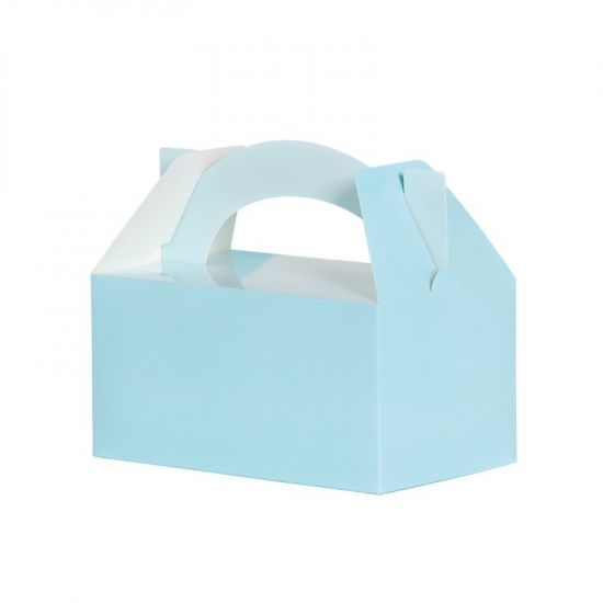 Pastel Blue Lunch Boxes Pack 5