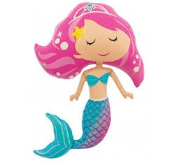 Mermaid Supershape Foil Balloon - Northstar