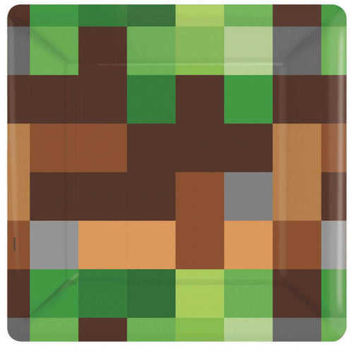Minecraft-TNT Party Plates