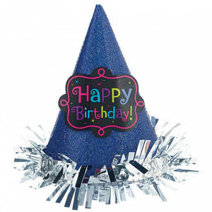 Mini Glitter Party Hat