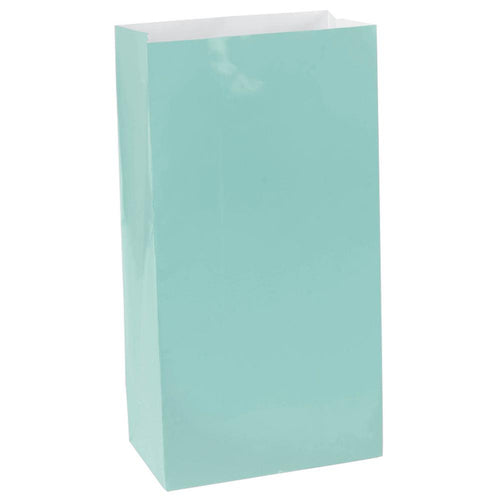 Mint Green Paper Lolly Bags