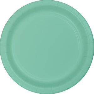 Mint Green Paper Snack Plates