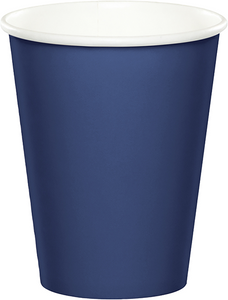 Navy Blue Paper Cups