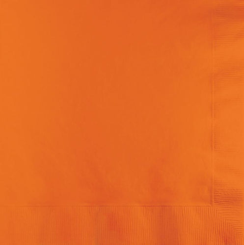 Orange Lunch Napkins P50