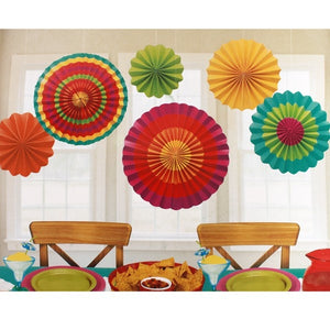Paper Fan Set-Fiesta