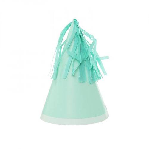 Pastel Mint Party Hats