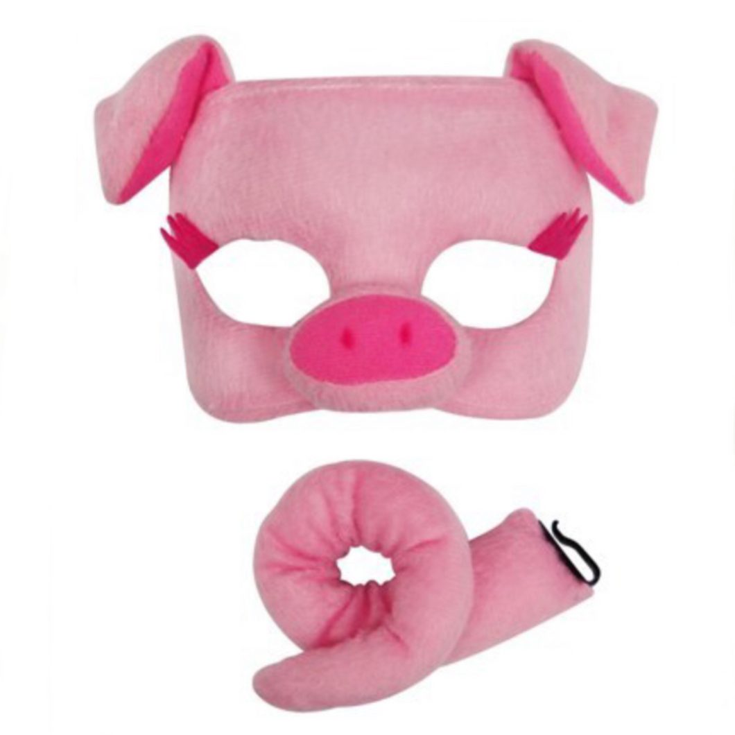 Pig Mask and tail