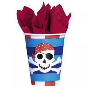 Pirates Treasure Paper Cups