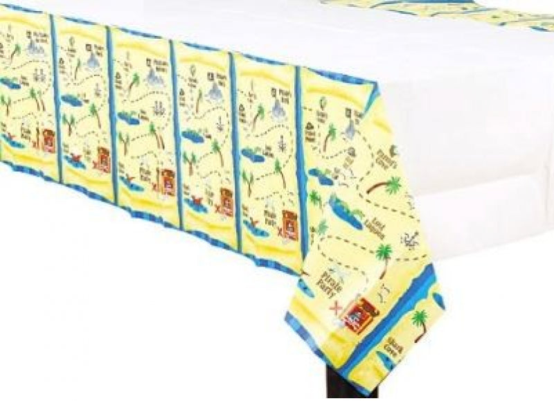 Pirate Treasure Paper Tablecover