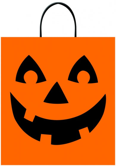 Pumpkin tick or treat bag