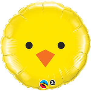 Chicken Face Foil Balloon 18""
