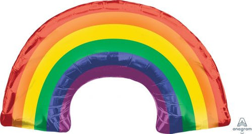 Rainbow Bright Supershape Foil Balloon - Anagram
