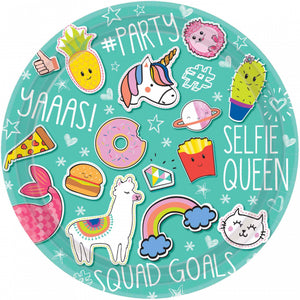Selfie Celebration Dinner Plates