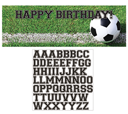 Soccer Giant Party Banner