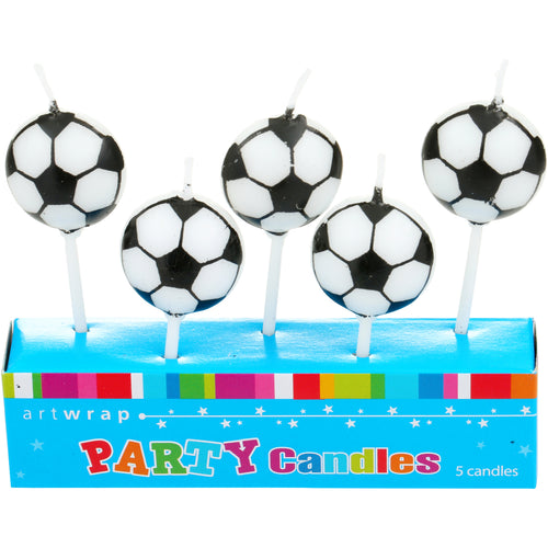 Soccer Party Candles