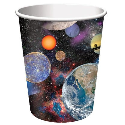 Space Blast Party Cups