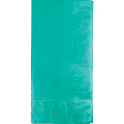 Teal Dinner Napkins P50