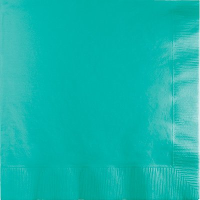 Teal Lunch Napkins P50