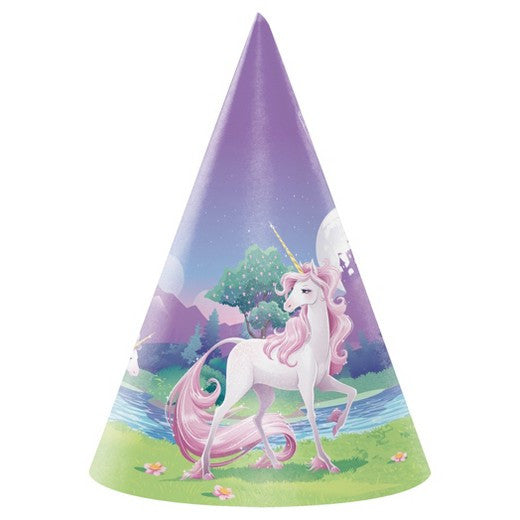 Unicorn Fantasy Party Hats