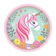 Magical Unicorn Lunch Paper Plates
