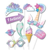 Unicorn Party Photo Prop Pack E5573