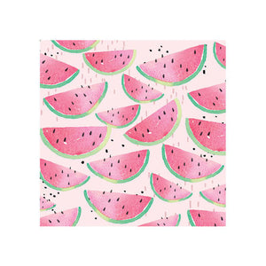 Watermelon printed napkins