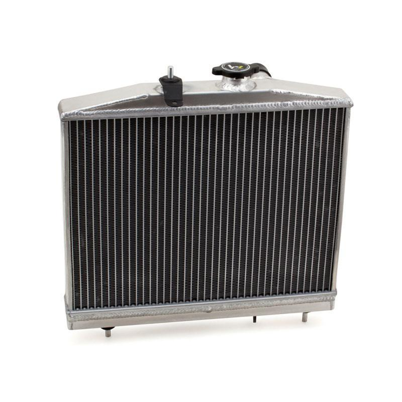 Hybrid Racing K-Swap Halfsize Radiator (96-00 Civic w/ K-Swap) HYB-RAD-01-06