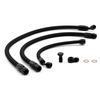 Hybrid Racing K-Series Swap Standard Fuel Line Kit (92-00 Civic & 94-01 Integra) Black HYB-FLK-01-02