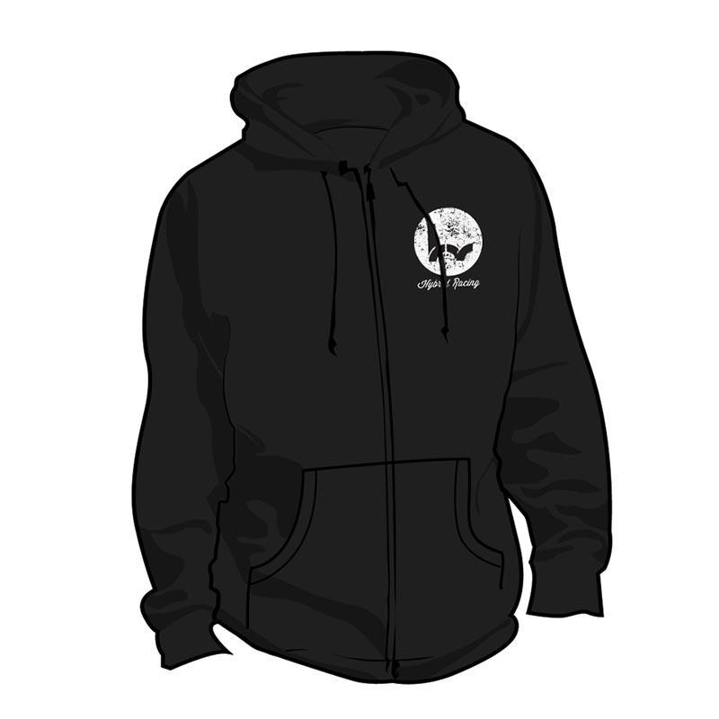 Hybrid Racing Hot Rod Zip Up Hoodie