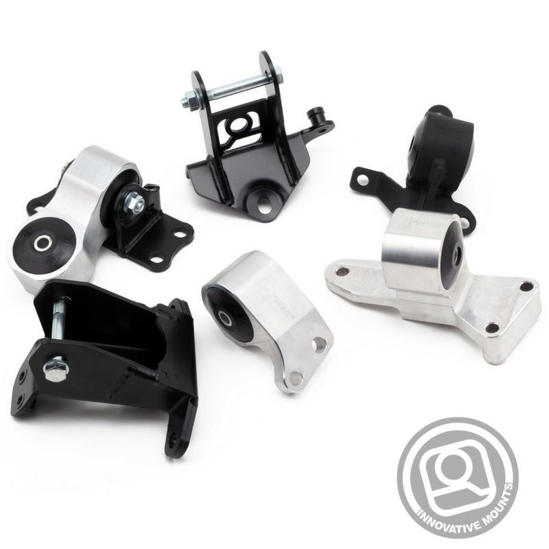 Innovative Mounts - K-Series Replacement Billet Engine Mount Kit (06-11 CIVIC SI)