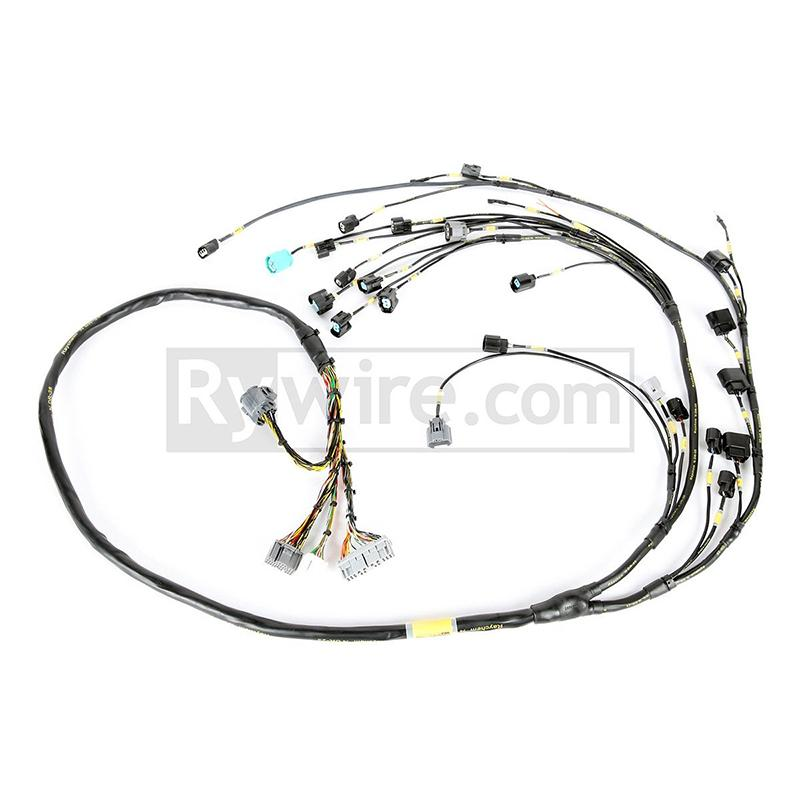hybrid racing k series swap conversion wiring harness (92 95 K20 Wiring Harness k series non milspec engine harness