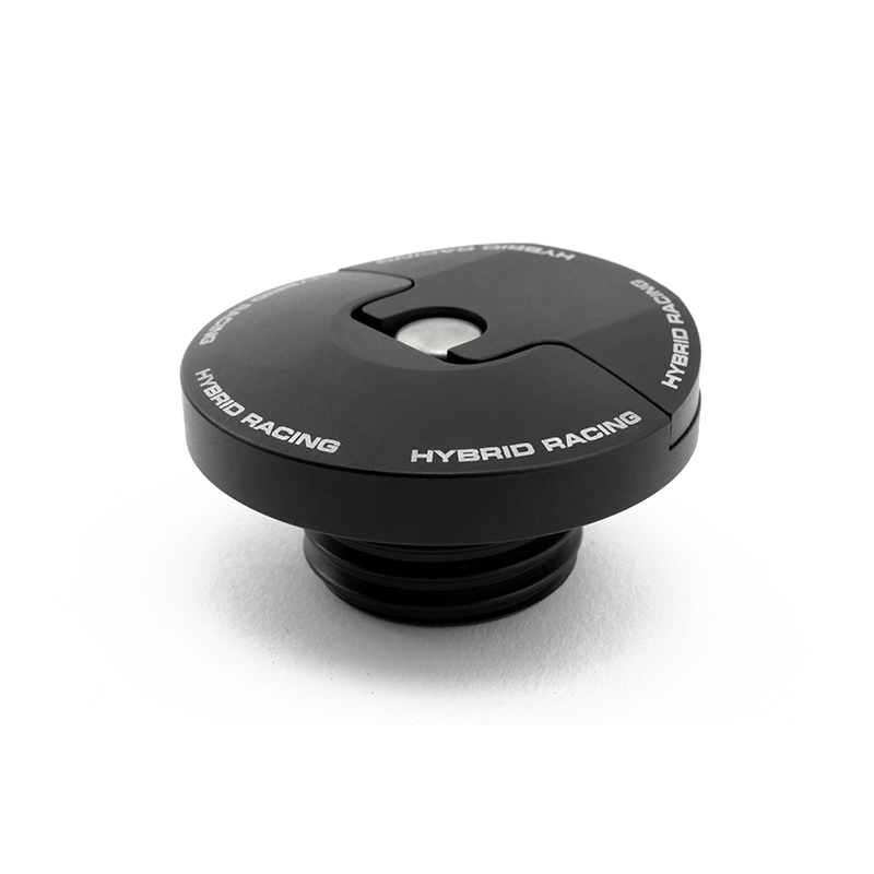 Hybrid Racing Slim Oil Cap (Honda & Acura) Dust Black HYB-OCA-01-04