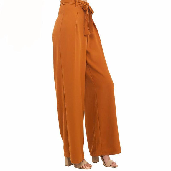 Melody Chiffon High Waist Wide Leg Pants