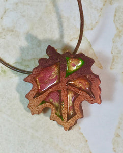 Fall Leaf 3 necklace