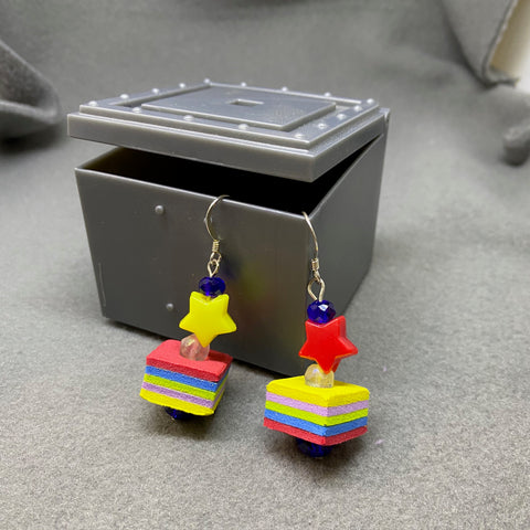 Foam earrings 2