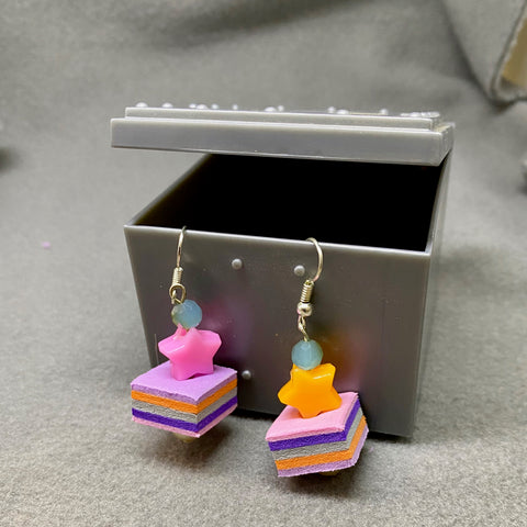 Foam earrings 3